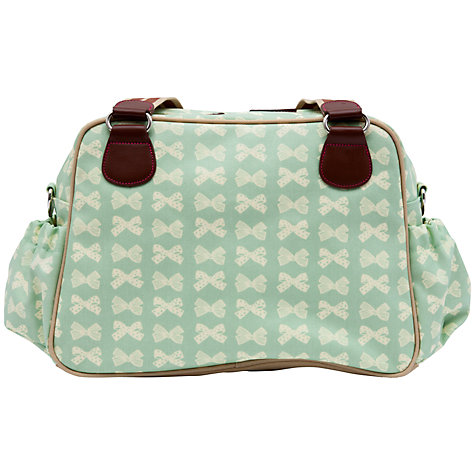 Buy Pink Lining Blooming Gorgeous Changing Bag, Peppermint Bows Online at johnlewis.com