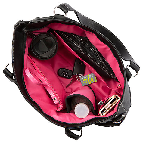 Buy Mia Tui Minnie Amelie Changing Bag, Black Online at johnlewis.com