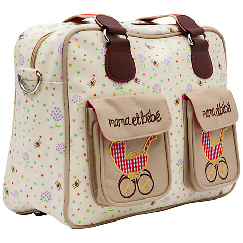 Buy Pink Lining Mama et Bebe Changing Bag, Bumble Bees Online at johnlewis.com