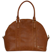 Buy BabyBeau Eden Leather Changing Bag, Brown Online at johnlewis.com