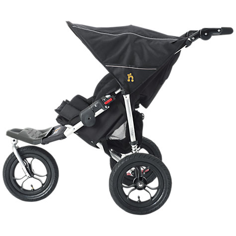 Buy Out 'N' About Nipper Double Pushchair, Black Online at johnlewis.com