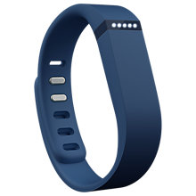 Buy Fitbit Flex Wireless Activity and Sleep Tracking Wristband, Navy + FREE Accessory Pack Online at johnlewis.com