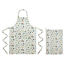 Buy Cath Kidston 20 Years Apron and Teatowel Set Online at johnlewis.com