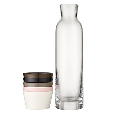 Buy Normann Copenhagen Cristal Carafe with Cups Online at johnlewis.com