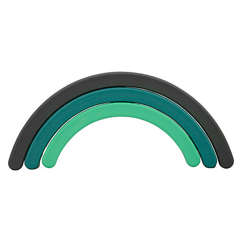 Buy Normann Copenhagen Rainbow Trivet, Green Online at johnlewis.com