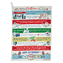 Buy Cath Kidston 20 Years Story Tea Towel Online at johnlewis.com