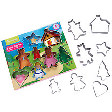 Buy John Lewis Cooksmart Fairytale Cookie Cutters Online at johnlewis.com