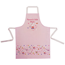 Buy Cooksmart Mummy's Little Helper Mouse Apron Online at johnlewis.com