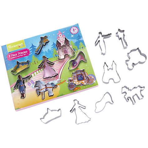 Buy John Lewis Cooksmart Princess Cookie Cutters, Set of 8 Online at johnlewis.com