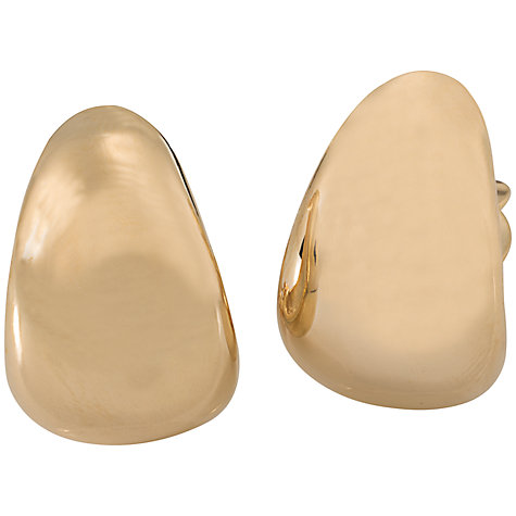 Buy Carolee Gold Huggy Hoop Earrings Online at johnlewis.com