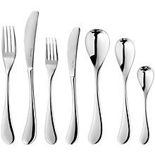 Buy Robert Welch Molton Cutlery Set, 42 Piece Online at johnlewis.com