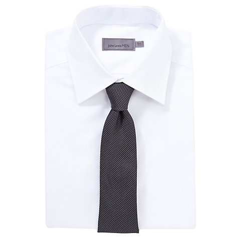 Buy CK Calvin Klein Semi Plain Tie Online at johnlewis.com