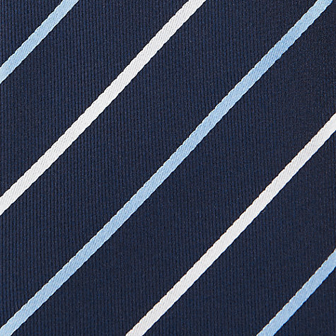 Buy Daniel Hechter Twill Two Tone Stripe Tie Online at johnlewis.com