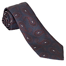 Buy John Lewis Made in Italy Large Paisley Print Tie Online at johnlewis.com