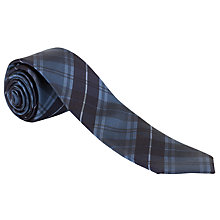 Buy Ben Sherman Tailoring Tonal Check Silk Tie Online at johnlewis.com