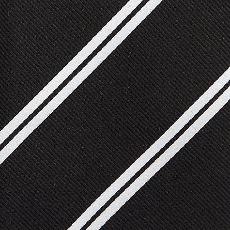 Buy John Lewis Made in England Repp Stripe Tie Online at johnlewis.com
