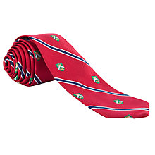 Buy Lauren by Ralph Lauren Striped Crest Tie Online at johnlewis.com