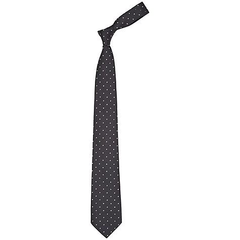 Buy Richard James Mayfair Textured Dot Tie Online at johnlewis.com