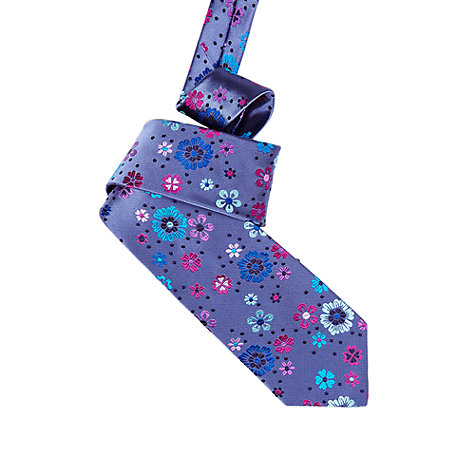 Buy Duchamp Celeste Petals Floral Tie Online at johnlewis.com