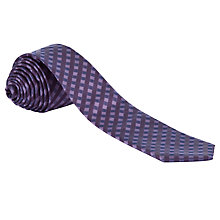 Buy West End by Simon Carter Tonal Check Tie Online at johnlewis.com
