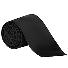 Buy John Lewis Fine Twill Plain Silk Tie Online at johnlewis.com