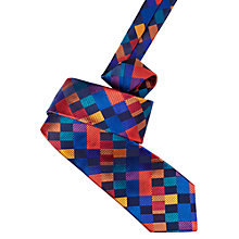 Buy Duchamp Varied Boxes Silk Tie, Multi Online at johnlewis.com