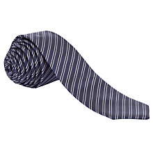 Buy West End by Simon Carter Pinstripe Tie Online at johnlewis.com