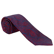 Buy John Lewis Made in England Paisley Print Tie Online at johnlewis.com