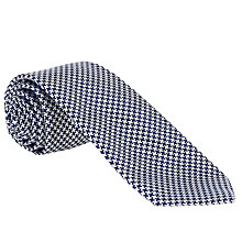 Buy John Lewis Made in England Puppytooth Tie Online at johnlewis.com
