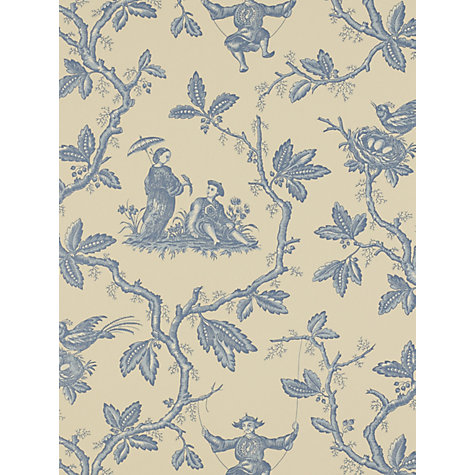 Buy Colefax & Fowler Chinese Toile Wallpaper Online at johnlewis.com
