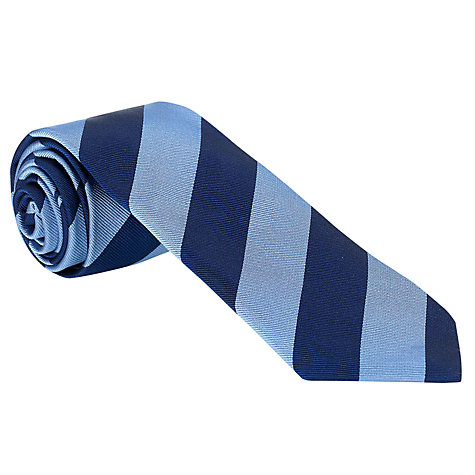 Buy John Lewis Made in England Wide Stripe Tie Online at johnlewis.com