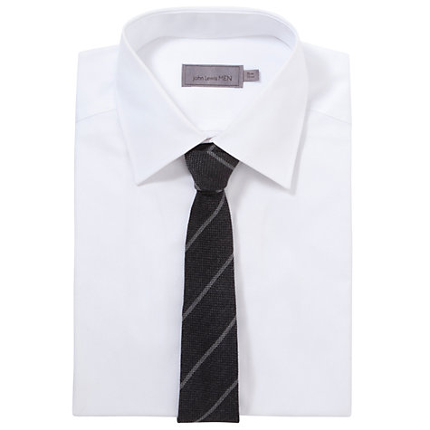 Buy John Lewis Matte Stripe Tie Online at johnlewis.com