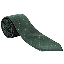 Buy John Lewis Micro Dot Silk Tie Online at johnlewis.com