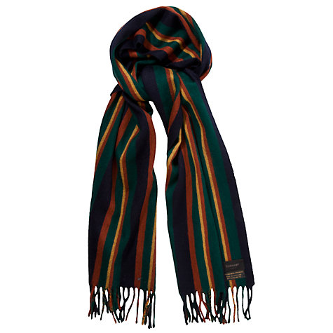 Buy Duchamp Lambrini Stripe Scarf Online at johnlewis.com