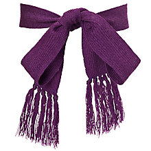 Buy Forest Preparatory School Girls' Sash Belt, Purple Online at johnlewis.com