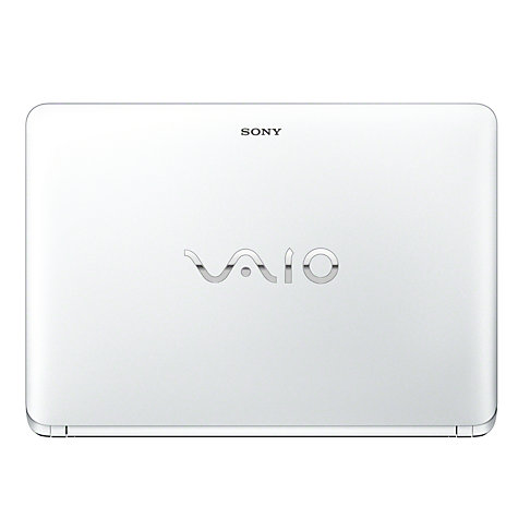 "Buy Sony Vaio Fit 14E SVF1421E2 Laptop, Intel Pentium 987, 4GB RAM, 500GB, 14"" Touch Screen, White Online at johnlewis.com"