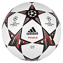 Buy Adidas Finale 13 Top Mini Football Online at johnlewis.com