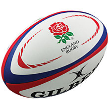 Buy Gilbert England International Supporter's Rugby Ball Online at johnlewis.com