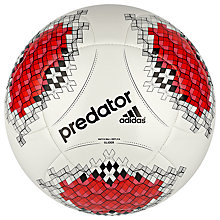 Buy Adidas Predator Glider Football Online at johnlewis.com
