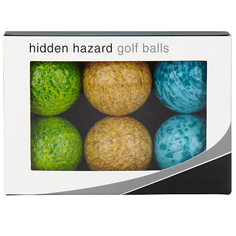 Buy Longridge Hidden Hazard Golf Balls, Pack of 6 Online at johnlewis.com