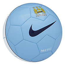 Buy Nike Manchester City Supporters Football Online at johnlewis.com