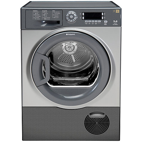 Buy Hotpoint TCUD97B6GM Condenser Tumble Dryer, 9kg Load, B Energy Rating, Graphite Online at johnlewis.com