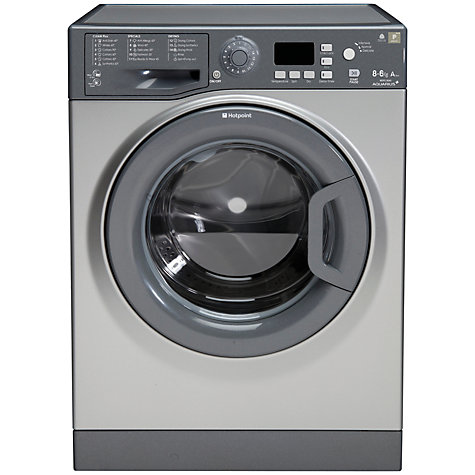 Buy Hotpoint WDPG8640 Washer Dryer, 8kg Wash/6kg Dry Load, A Energy Rating, 1400rpm Spin Online at johnlewis.com