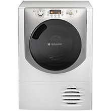 Buy Hotpoint Aqualtis AQC9BF7I1 Condenser Tumble Dryer, 9kg Load, B Energy Rating, White Online at johnlewis.com