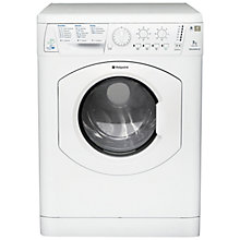 Buy Hotpoint WDL5290P Washer Dryer, 7kg Wash/4kg Dry Load, A Energy Rating, 1200rpm Spin, White Online at johnlewis.com
