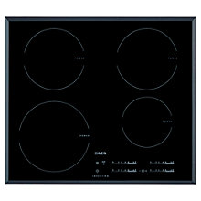 Buy AEG HK654200FB MaxiSense Induction Hob, Black Online at johnlewis.com