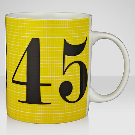 Buy Eames House Of Cards Numbers Mug Online at johnlewis.com