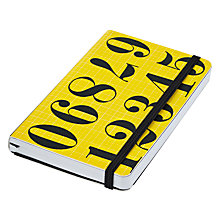 Buy Eames House of Cards Numbers A6 Notebook Online at johnlewis.com