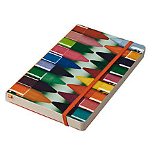 Buy Eames House Of Cards Crayons A5 Notebook Online at johnlewis.com