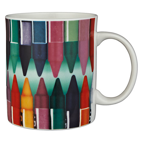Buy Eames House Of Cards Crayons Mug Online at johnlewis.com